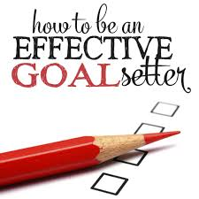 how to be an effective goal setter living well spending less® effective goal setter personal goal setting goal setting goal setting worksheet priority
