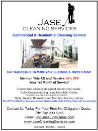 jase cleaning services google