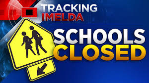 List of school closings, cancellations due to Imelda