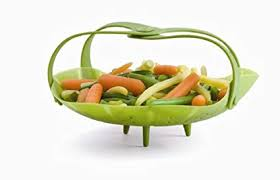 Buy Trudeau <b>Silicone Vegetable Steamer</b> with Handles Online at ...