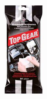 <b>Салфетки влажные Top</b> Gear для стекол зеркал и фар ... - купить ...