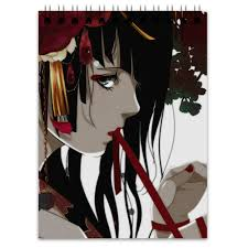 <b>Блокнот</b> Японская гейша #564815 от liya