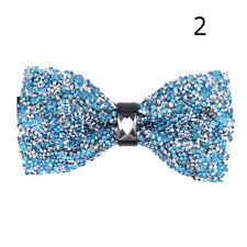 hottest <b>new styles</b> Crystal Bling Bow Ties Men's <b>Butterfly Knot</b> ...