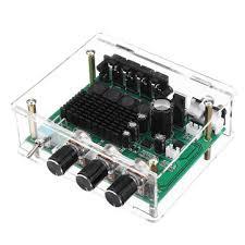 dc 12v-24v tpa3116d2 2x80w stereo <b>amplifier audio board tpa3116</b> ...