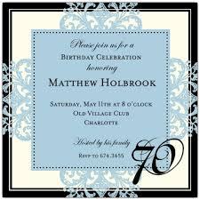 70th birthday invitations templates ctsfashion com th birthday invitations templates wedding invitation sample
