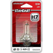 <b>AutoStandart</b> 106009 <b>Лампа</b> галогеновая <b>AutoStandart Standart H7</b> ...