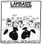 lambaste