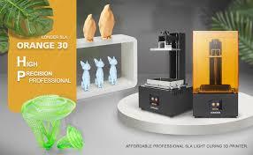 Grab <b>Longer Orange 30</b> SLA <b>3D printer</b> at discount price for $285 ...
