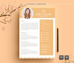 resume template cover letter for word ai psd diy 128270zoom