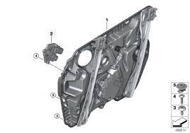 <b>Механизм</b> перемещения стекла двери Пд BMW G08 SAV 59855