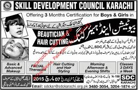click on image for bigger view beautician jobs