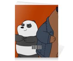 Тетрадь на скрепке We bare bears #898091 от scoopysmith