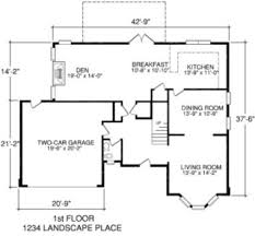 Sample House Floor Plan   Design GalleryHouse Floor Plans With Measurements X Awesome Design     Sample House Floor
