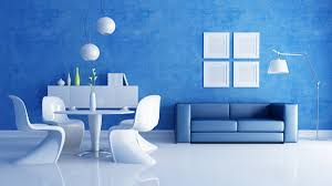 Image result for blue wall
