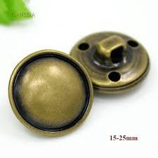 <b>30pcs</b>/<b>lot</b> Mushroom metal buttons for garment <b>Vintage</b> bronze color ...