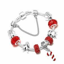 SPINNER Christmas <b>Love DIY</b> Charm Bracelet Little Boy Girl ...
