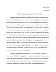color of success rhetorical analysis essay  student written     pages essay on slave trade   student critiques  student written