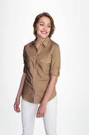 <b>Рубашка женская BURMA WOMEN</b>, бежевая