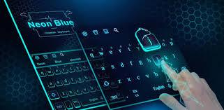 Neon Blue <b>Cheetah</b> Keyboard Theme - Apps on Google Play