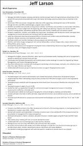 project manager resume net project manager resume example