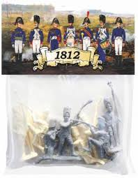<b>Набор фигурок Биплант Солдатики</b> Армия 1812 года 8 шт 6.5 см ...