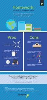 pros and cons of homework infographic e learning infographics pros and cons of homework infographic