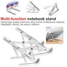 <b>Aluminum</b> Portable <b>Adjustable Laptop Stand</b> for MacBook Notebook ...