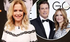 Kelly Preston fell in love with her husband John Travolta...