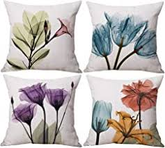 Set of 4 Cushion Covers - Amazon.com