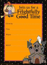 halloween birthday party invitations printable a scart com printable halloween party invitations templates