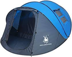 6 Person Easy Pop Up Tent, 12.5'X8.5'X53.5 ... - Amazon.com