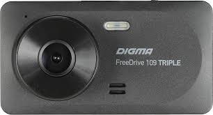 <b>Видеорегистратор Digma FreeDrive 109</b> Triple, черный — купить ...