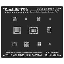 GSMKEY > BGA Repair Tools > <b>QianLi</b> ToolPlus 3D Black Stencil ...