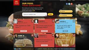 mcdonald s our food your questions this is not since its inception the company s response team has covered almost 6 000 questions at the site answers have been posted using