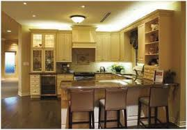 kitchen rope lighting or above cabinet lighting