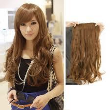 ღFD Long <b>55cm</b> Width 25cm Lady Sexy <b>Stylish</b> Long Curl <b>Wavy</b> Clip ...