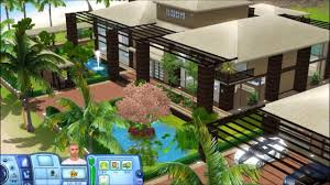Sims Tropical House    plans    YouTubeSims Tropical House    plans