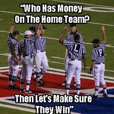 The WORST Officiating NFL Crew I've Ever Seen - Sports Bar - Gay ... via Relatably.com