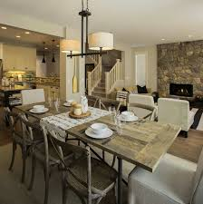 Farmhouse Dining Room Lighting Warm And Cozy Rustic Farmhouse Dining Table Rustic Rustic