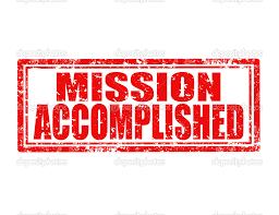 Résultats de recherche d'images pour «mission accomplie»