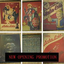 christmas posters promotion shop for promotional christmas fallout posters 3 4 home wall decoration vintage posters coke posters