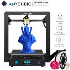 Anycubic <b>3D Printer</b> Mega X FDM Modular Design <b>Large Size</b> Print ...