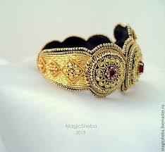 золотой, золотой <b>браслет</b>, вышитый <b>браслет</b>