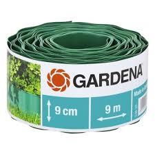 <b>Бордюр Gardena</b> 9 см, длина 9 м <b>зелёный</b> — купить в интернет ...