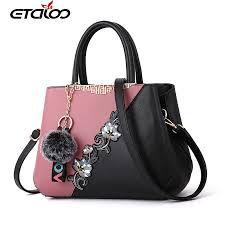 2019 Handbags <b>Women Bag Vintage Handbag</b> Casual Tote Simple ...