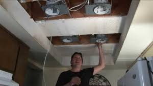 Fluorescent Kitchen Ceiling Light Fixtures Step 1 Replace Fluorescent Lights W Recessed Lights Youtube