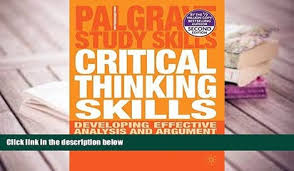 Stella cottrell critical thinking skills     Apreender