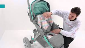 Прогулочная <b>коляска Happy Baby</b> Neon sport - YouTube