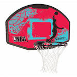 Rim and backboard combo with mount
