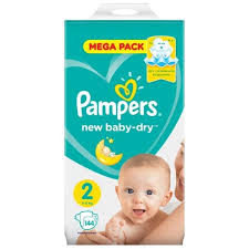 ᐅ <b>Pampers подгузники New</b> Baby Dry 2 (4-8 кг) 144 шт. отзывы ...